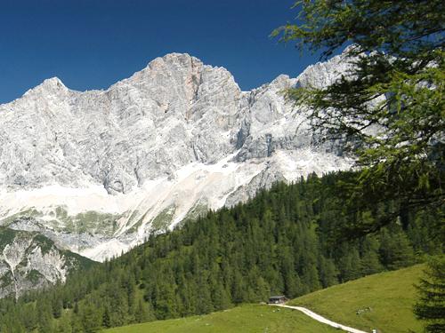 ©TVBRamsau-BlickaufdasGebirge