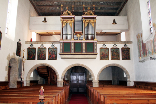Kircheninnenraum-WallfahrtskircheFilzmoos©ventigo