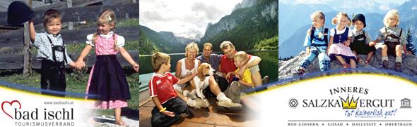 FamilienwanderwegeimInnerenSalzkammergutundinBadIschl Wandertouren Wanderrouten Wanderungen ©TVBInneresSalzkammergut