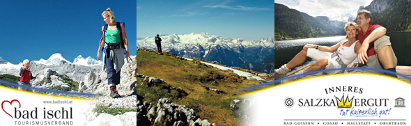 WanderwegeimInnerenSalzkammergutundinBadIschl|Wandertouren|Wanderrouten|Wanderungen|©TVBInneresSalzkammergut;OÖTourismusKirchmayr