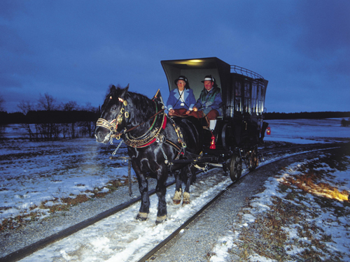 Pferdeeisenbahn©OÖTourismusKapfer|Ausflugsziele