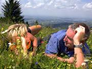 Entspannen und Sonne genießen © OÖ Tourismus Erber
