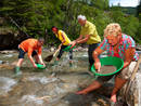 Goldwaschen © Tourismusverband Rauris