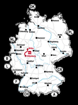 Anreise zum Rothaarsteig in Deutschland © Rothaarsteig e. V.