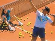 Tennis (Aufschlag-Punkt-Sieg)