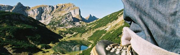 Bergschuh am Rofan © Alpbachtal Seenland Tourismus