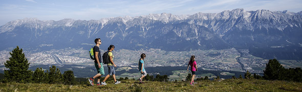 Familienwandern © hall-wattens.at