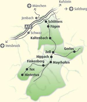 Regionen Zillertal © Zillertal Tourismus GmbH