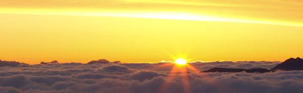 Sonnenaufgang © 2011 Serfaus-Fiss-Ladis