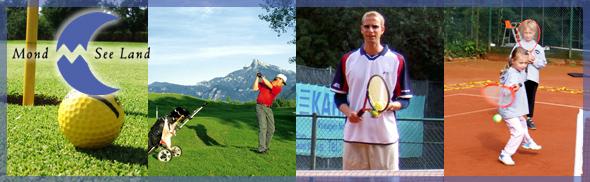 Golf und Tennis