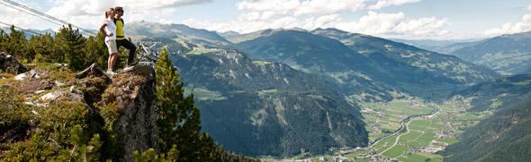 Urlaubsregionen © Zillertal Tourismus GmbH