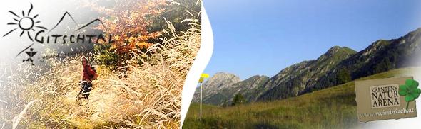 Wanderwege © Santner - Gitschtaler Informationsportal