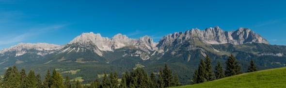 Panorama © Tourismusverband Wilder Kaiser