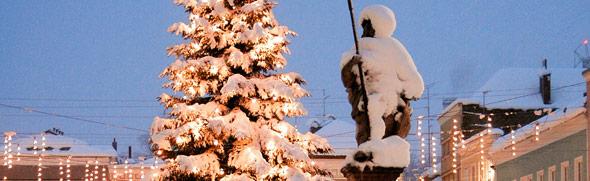 Weihnachtsbaum © Hirnschrodt, Tourismusbüro Ried im Innkreis